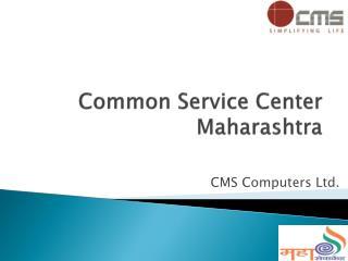 Common  Service Center  Maharashtra