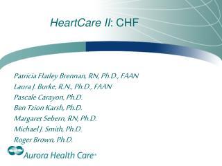 HeartCare II : CHF