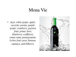Mona Vie