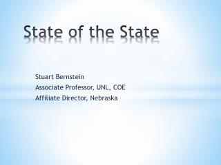 State of the State