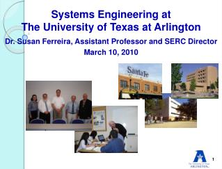 Systems Engineering at The University of Texas at Arlington