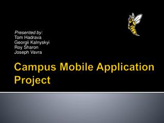 Campus Mobile Application Project