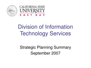 Division of Information Technology Services