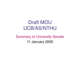 Draft MOU UCB/AS/NTHU