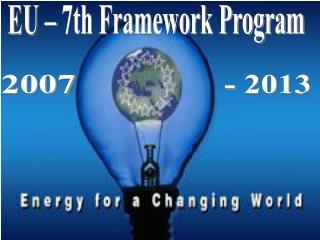 EU � 7th Framework Program