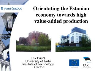 Orientating the Estonian economy towards high value-added production