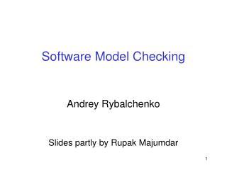 Software Model Checking