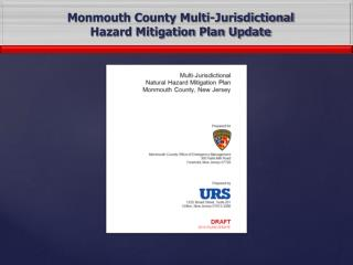 Monmouth County Multi-Jurisdictional Hazard Mitigation Plan Update