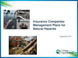 Insurance Companies   Management Plans for  Natural Hazards  September, 2013