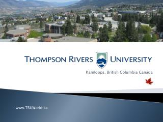 Kamloops, British Columbia Canada