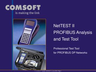Professional Test Tool  for PROFIBUS DP Networks