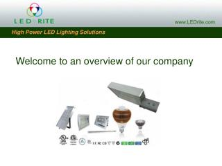 Welcome to an overview of our company
