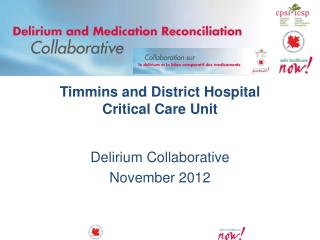 Timmins and District Hospital Critical Care Unit
