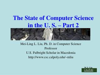 The State of Computer Science in the U. S.