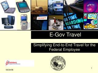 E-Gov Travel