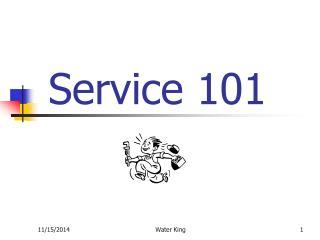 Service 101