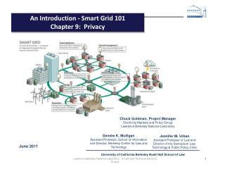 An Introduction - Smart Grid 101 Chapter  9:   Privacy