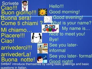 Ciao!!!