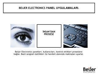 BEIJER ELECTRONICS PANEL UYGULAMALARI.