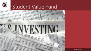 Student Value Fund