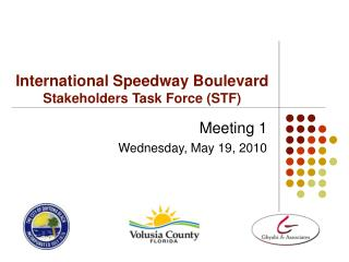 International Speedway Boulevard Stakeholders Task Force (STF)