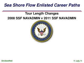 Sea Shore Flow Enlisted Career Paths