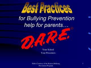 Your School  Your Presenters