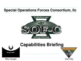 Special Operations Forces Consortium, llc
