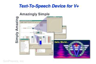 Text-To-Speech Device for V+