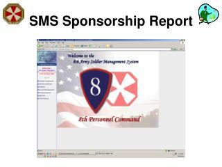 SMS Sponsorship Report