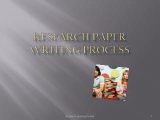 Research Paper  Writing Process