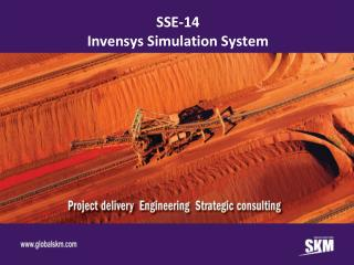 SSE-14 Invensys Simulation System