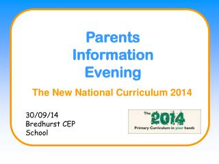 The New National Curriculum 2014