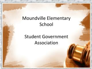 Moundville Elementary School Student Government Association