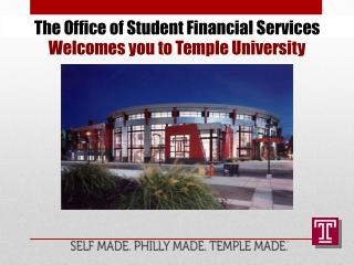 The Office of Student Financial Services