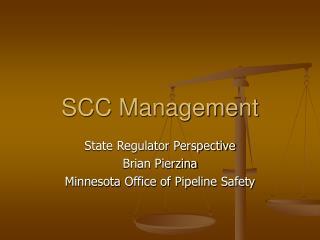 SCC Management