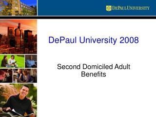 DePaul University 2008