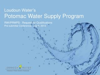 Loudoun Water�s  Potomac Water Supply Program