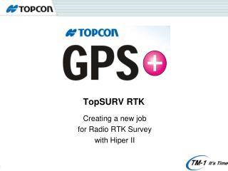 TopSURV RTK