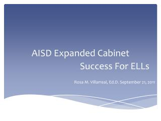 AISD Expanded Cabinet