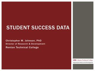 Student Success Data