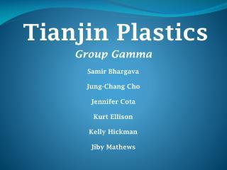 Tianjin Plastics