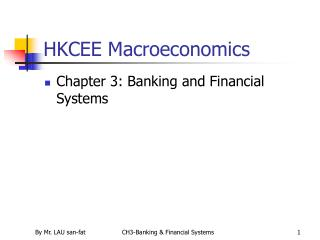 HKCEE Macroeconomics
