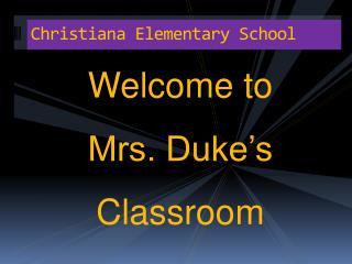 Christiana Elementary School