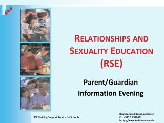Relationships and Sexuality Education (RSE)