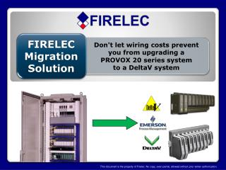 FIRELEC Migration Solution