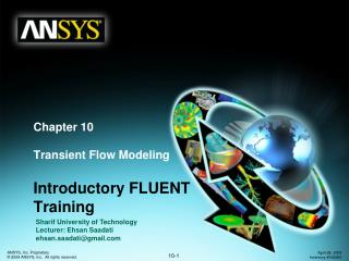 Chapter 10 Transient Flow Modeling