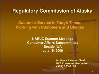Regulatory Commission of Alaska