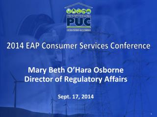 2014 EAP Consumer Services Conference
