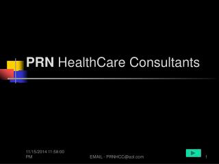 PRN  HealthCare Consultants
